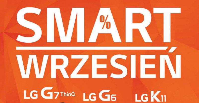 LG Smart Wrzesień z promocją na smartfony