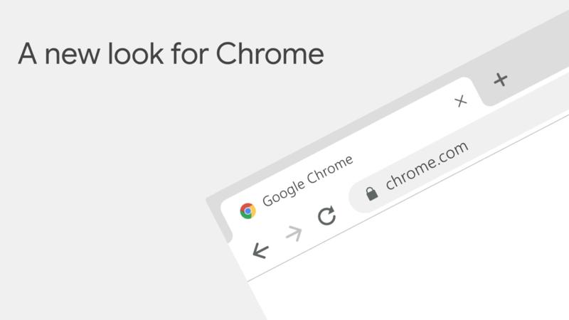 Nowy wygląd przeglądarki Chrome (wrzesień 2018)