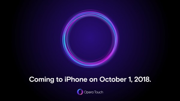 Opera Touch trafi na iPhone'a już 1 października