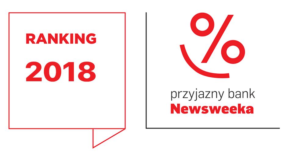 """Ranking """"Przyjazny bank Newsweeka 2018"""""""