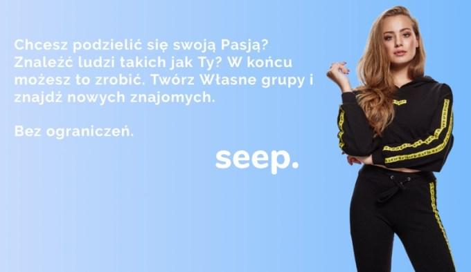 Seep. pozwala dzielić się swoimi pasjami!