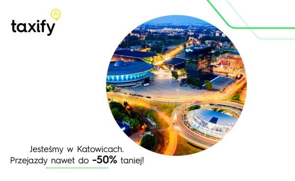 Mieszkańcy Śląska mogą już korzystać z Taxify