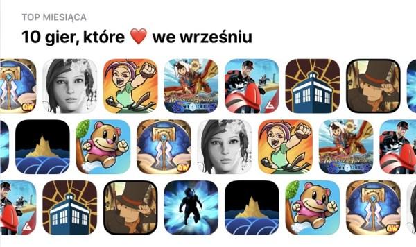 TOP 10 gier miesiąca sklepu App Store (wrzesień 2018)
