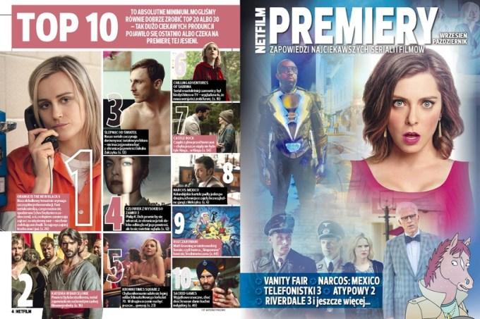 TOP 10 filmów i seriali (Netfilm 4/2018)