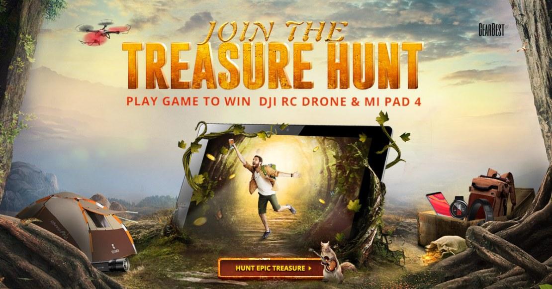 Treasure Hunt (GearBest)
