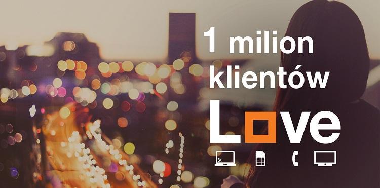 1 mln klientów Orange Love w Polsce