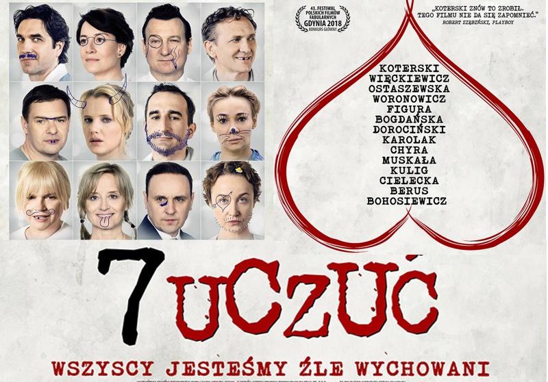 """""""7 uczuć"""" film Marka Koterskiego (2018)"""