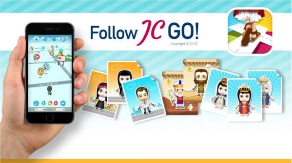 Zbieranie świętych zamiast potworów w katolickiej grze  Follow JC Go