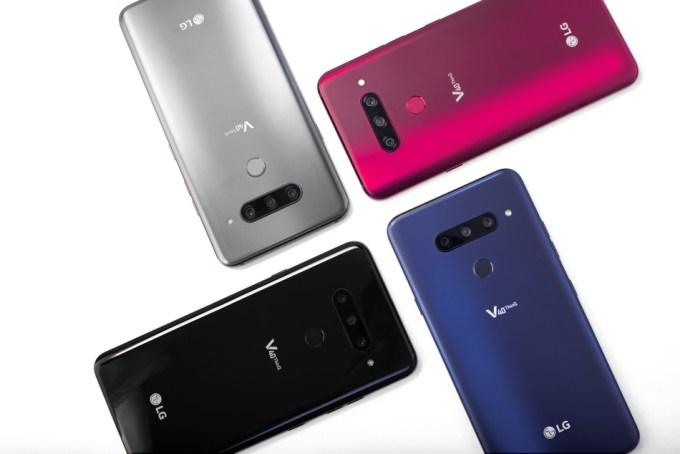 Smartfony LG V4 ThinQ