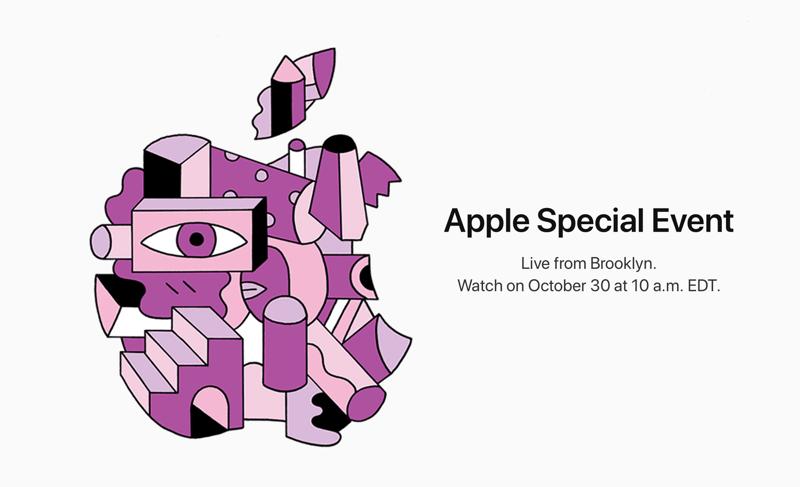 Apple Special Event 30 października 2018 (iPad, Mac)