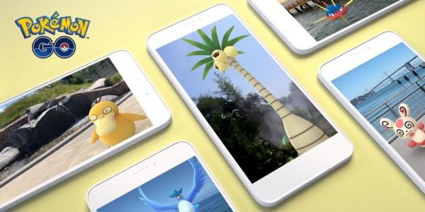 Tryb Pokémon GO AR+ dostępny na urządzeniach z Androidem