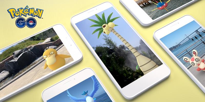 Pokémon GO AR+ na Androidzie