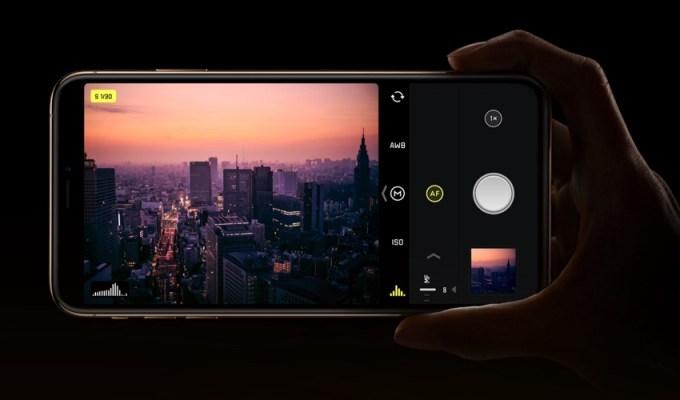 Halide Camera dla iPhone'a XS i XR