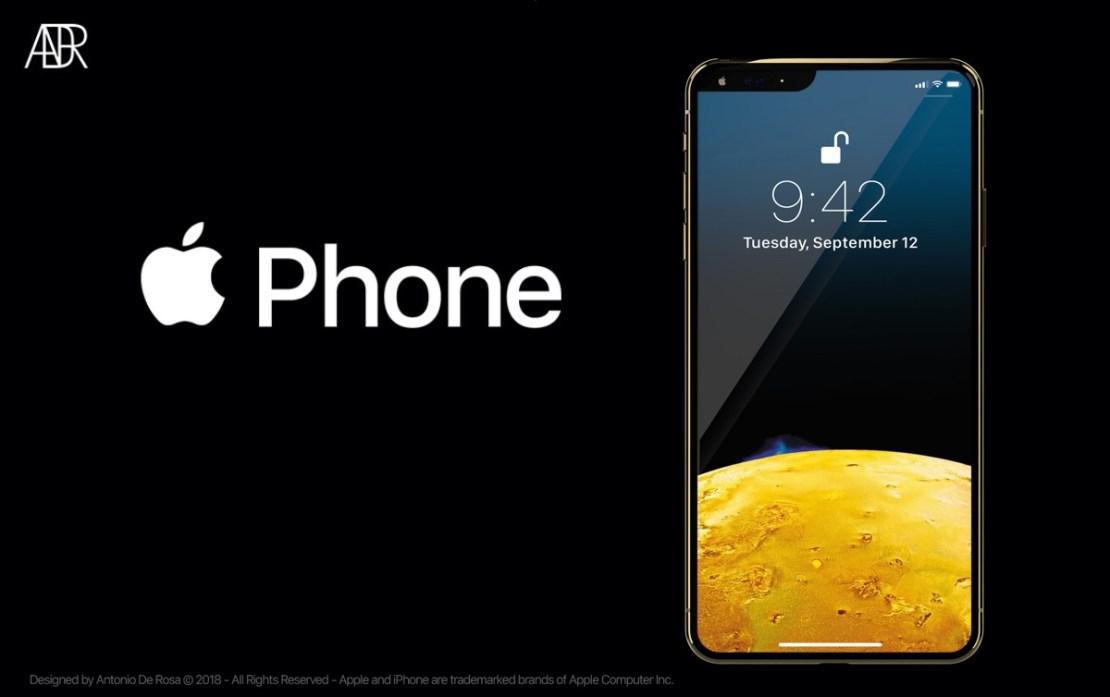iPhone 2019 koncepcja (fot. Antonio De Rosa)