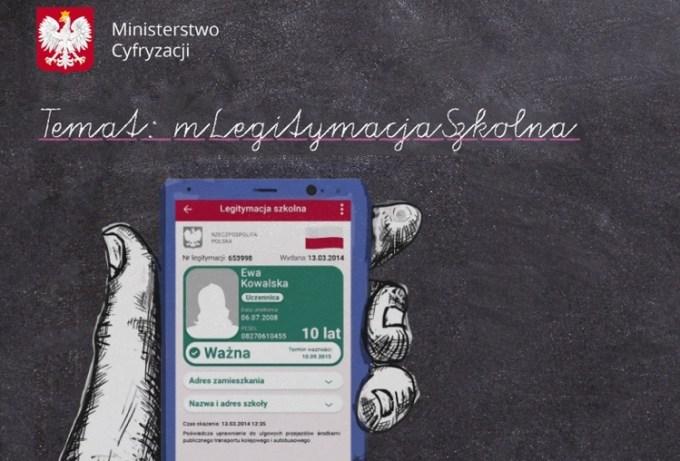 mLegitymacja szkolna w aplikacji mObywatel