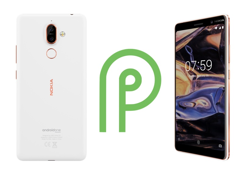 Nokia 7 plus z Androidem 9 Pie