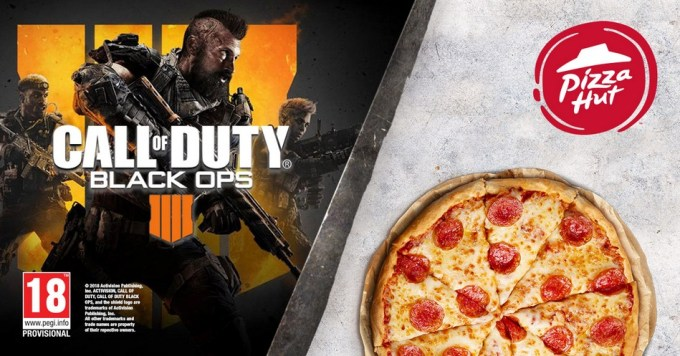 Call of Duty: Black Ops 4 i sieć restauracji Pizza Hut