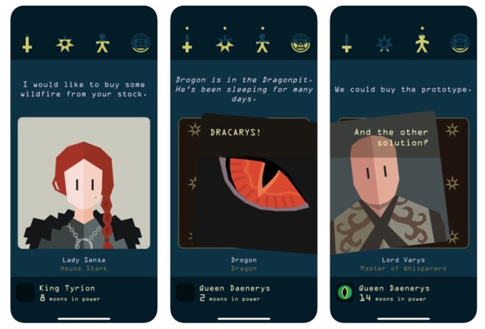 Reigns: Game of Thrones - gra mobilna (screeny iOS)