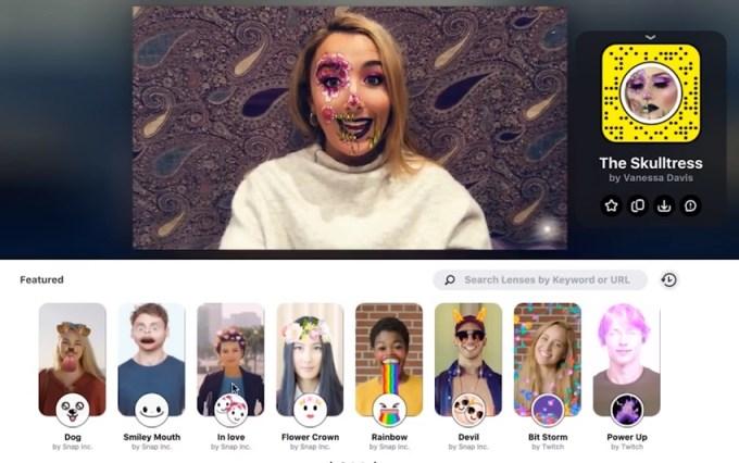 Snap Camera - soczewki i filtry Snapchata na komputerze