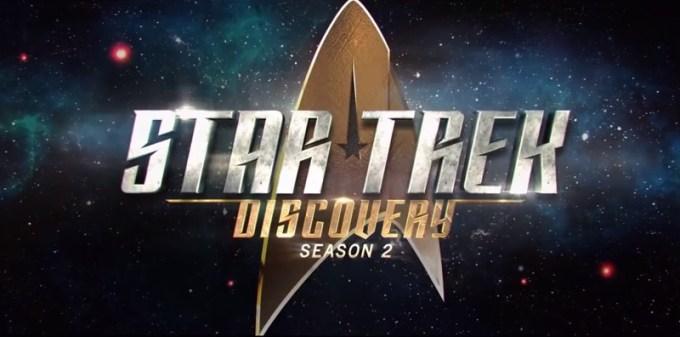 """Star Trek: Discovery"" Sezon 2. (logo)"