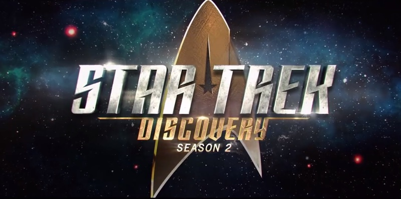 """Star Trek: Discovery"" Sezon 2. (logo)"