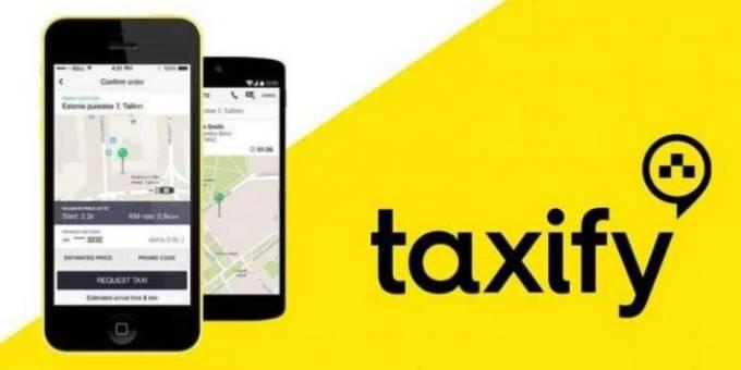 Taxify i Google Maps