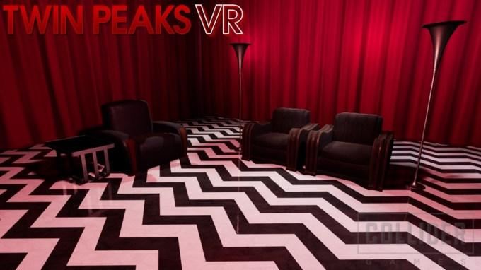 Twin Peaks VR (czerwony pokój w grze w wirtualnej rzeczywistości)