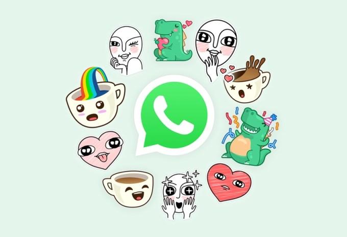 Naklejki w komunikatorze WhatsApp