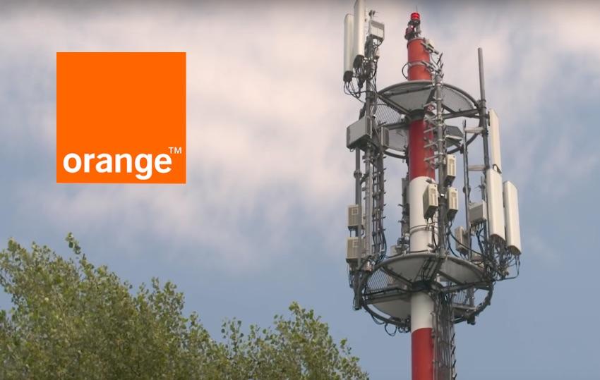 Anteny sieci mobilnej Orange