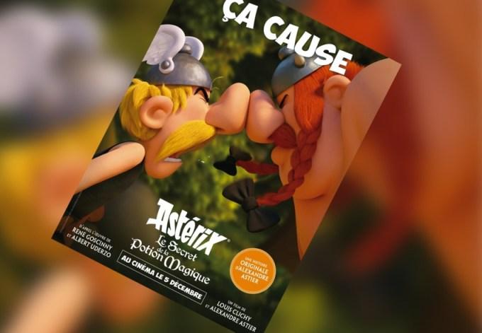 """Plakat filmu """"Asteriks i Obeliks: Tajemnica magicznego wywaru"""""""