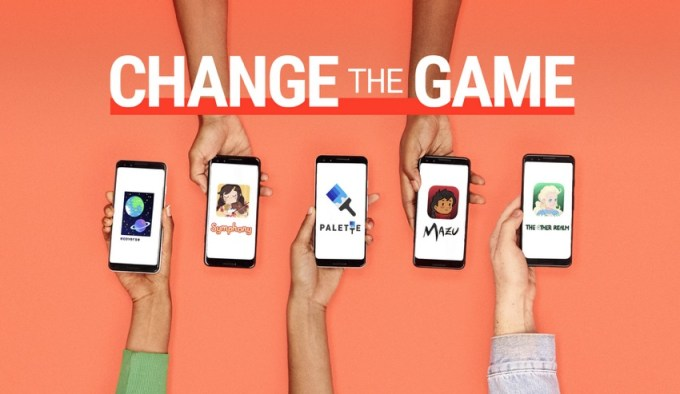 "Gry finalistek ""Change the Game 2018"" w sklepie Google Play"