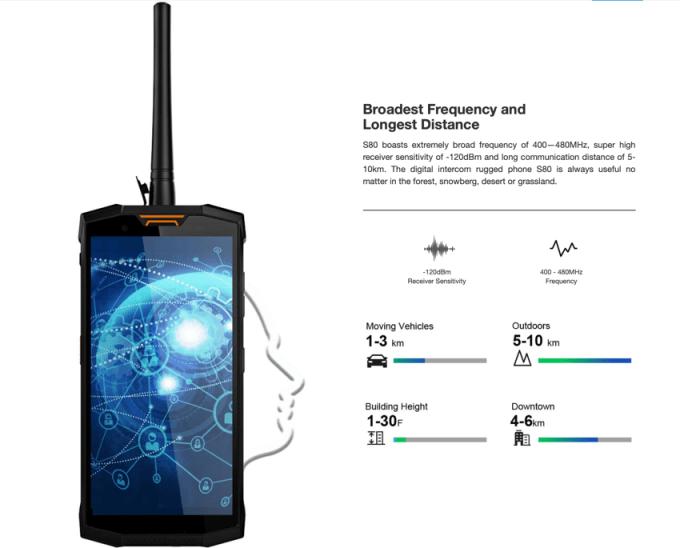 Smartfon Doogee S80 (walkie-talkie)