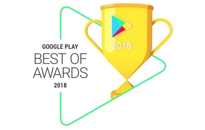 logo: Google Play Best of 2018 Awards