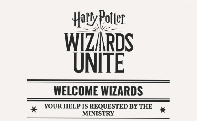 "Gra mobilna ""Harry Potter: Wizards Unite"""