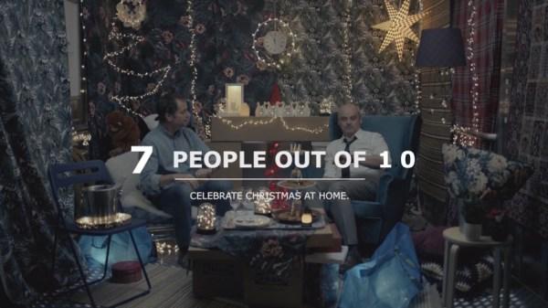 Kupujący w Ikei potrafią zorganizować święta w windzie [spot]