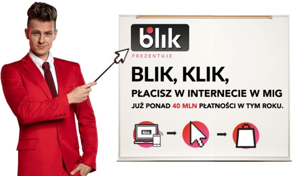 """Ruszyła kampania """"BLIK, klik, płacisz w internecie w mig!"""""""
