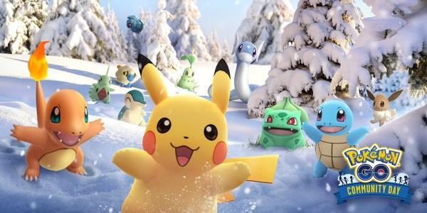 Grudniowe Community Day w Pokémon GO będzie wyjątkowe!