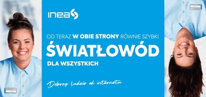 Symetryczny internet światłowodowy w INEA