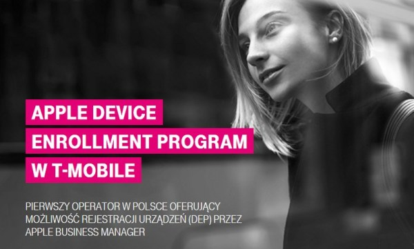 Apple Device Enrollment dla firm w T-Mobile
