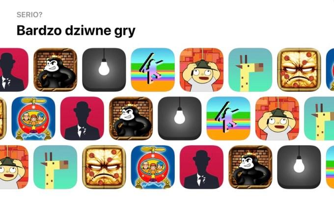 Bardzo dziwne gry mobilne na iOS-a i Androida