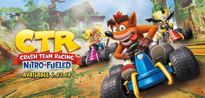 Crash™ Team Racing Nitro-Fueled (premiera: 21 czerwca 2019)