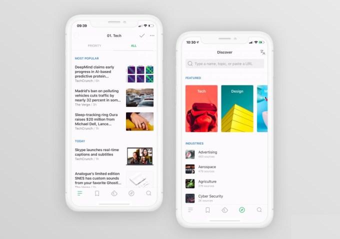 Feedly - zaktualizowana aplikacja mobilna (2018)