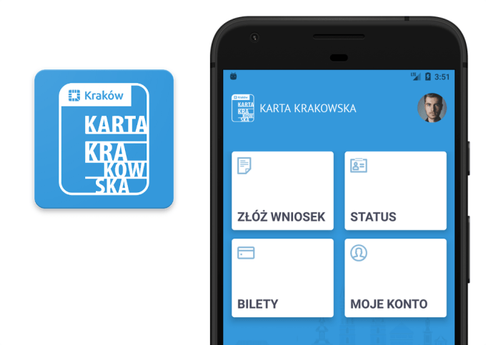 "Aplikacja mobilna ""Karta Krakowska"""