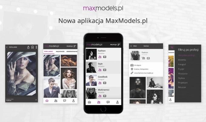 Aplikacja mobilna MaxModels