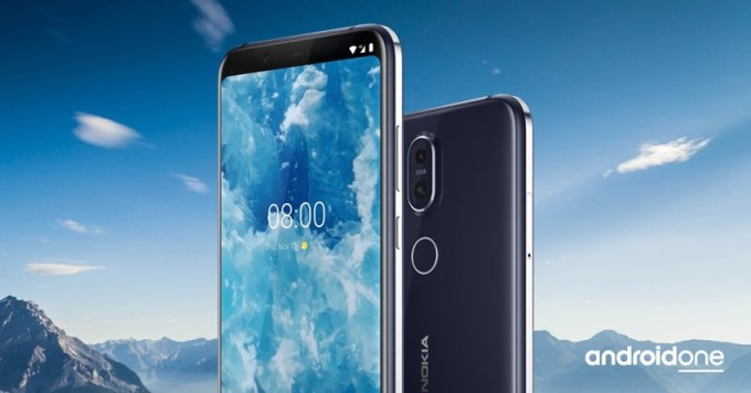 Nokia 8.1 z Androidem One