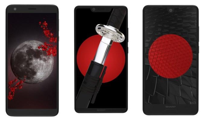 Smartfony Sharp dostępne w Polsce