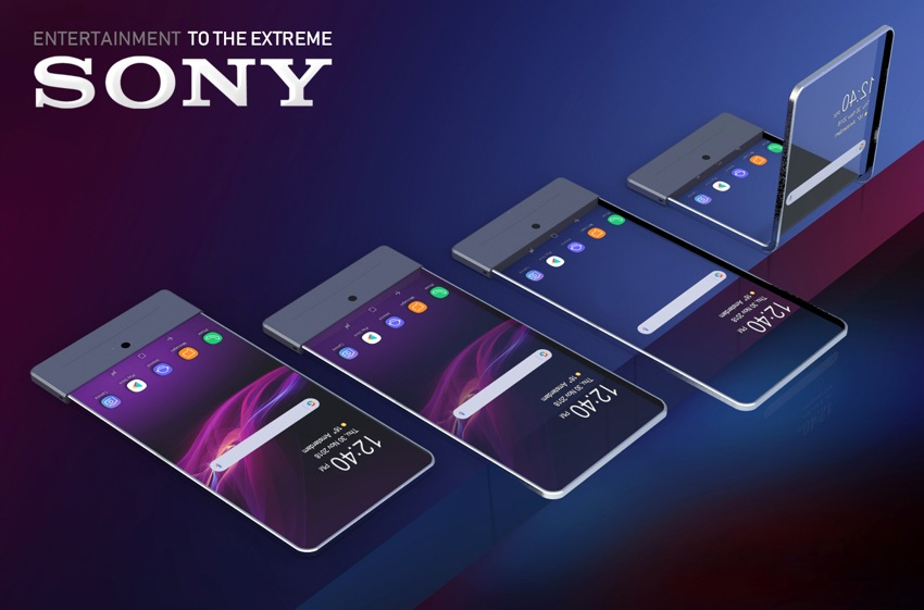 Koncept: smartfon Sony z transparentnym wyświetlaczem