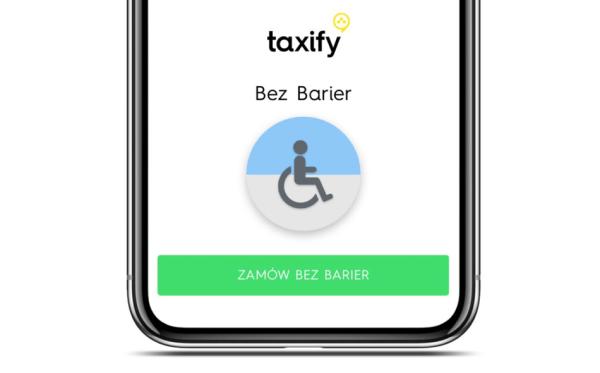 Osoby z niepełnosprawnością wygodnie pojadą z Taxify