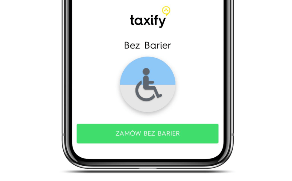 Taxify bez barier - taksówki dla osób z niepełnosprawnością