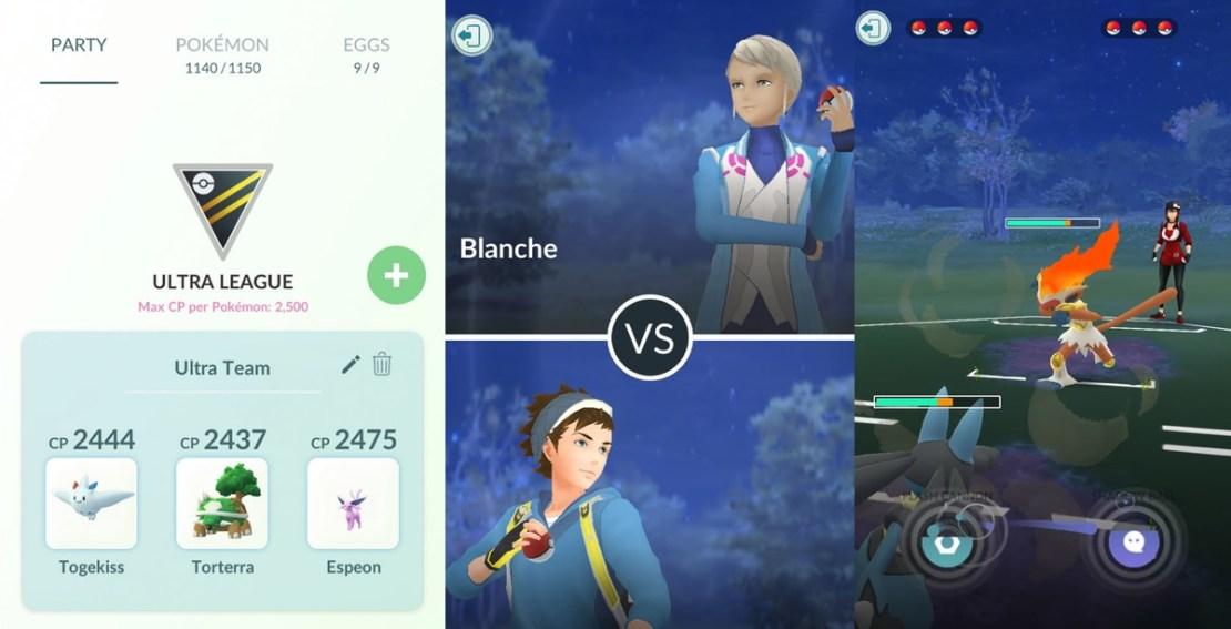 Walki między graczami w Pokemon GO